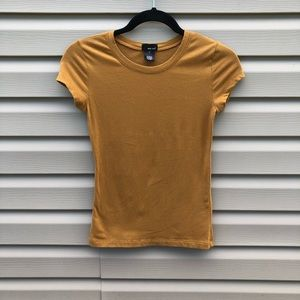 Wet Seal | mustad yellow basic tee